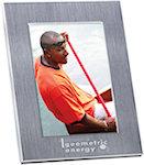 5 X 7 Brushed Matte Aluminum Frames